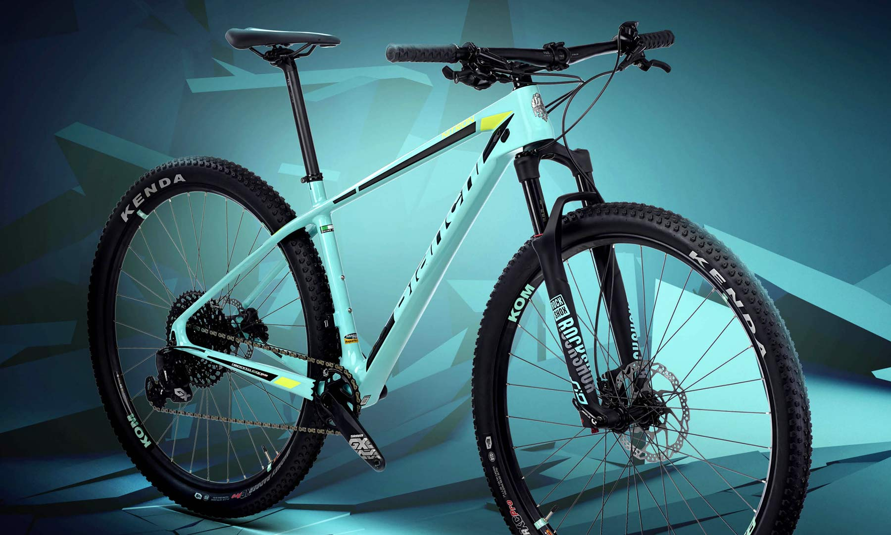 Bianchi Nitron floats new privateer's light carbon XC race