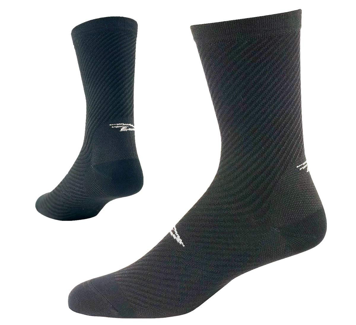 DeFeet EVO carbon fiber cycling socks are the lightest weight socks in the world