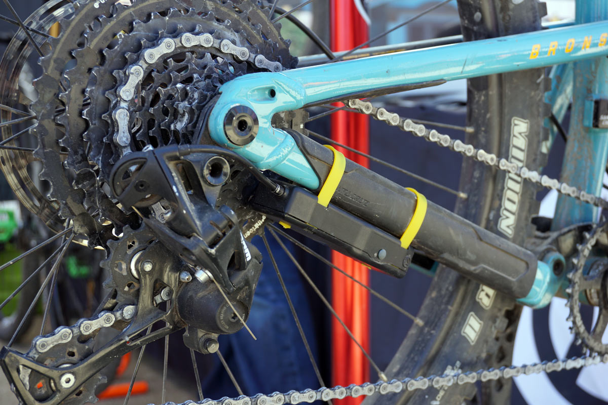 archer components wireless shifting upgrade kit aftermarket add on to turn any 1x mountain bike into wireless shifters