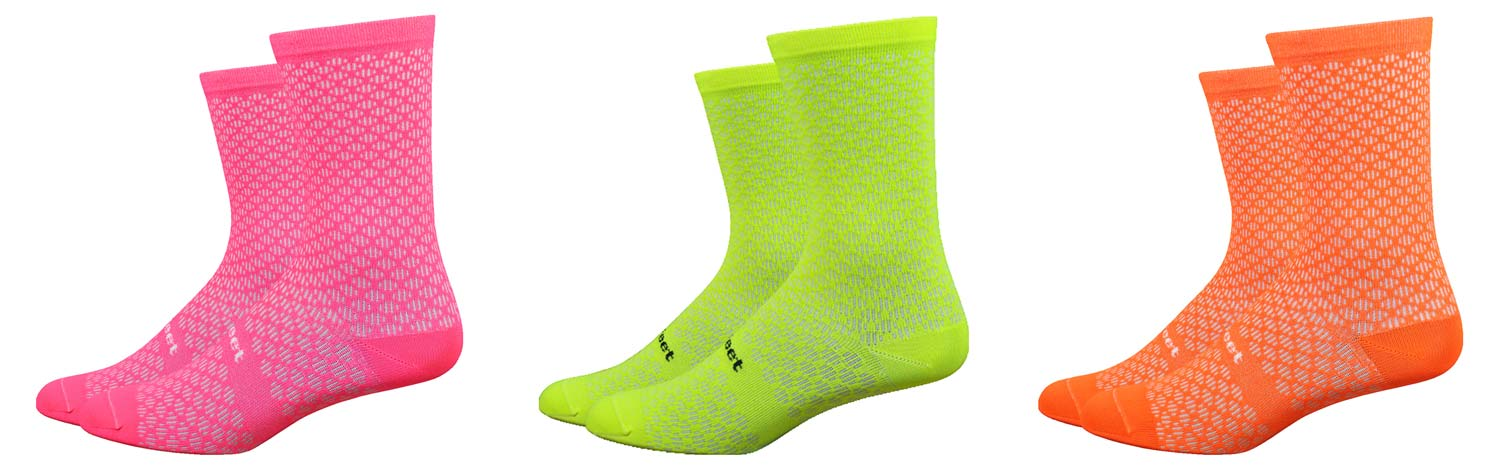 DeFeet EVO cycling socks are the lightest athletic socks in the world
