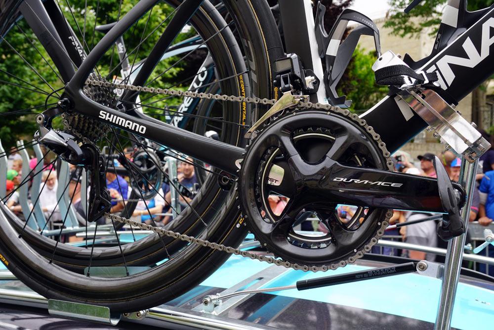 team sky pinarello dogma f10 pro bike checks from 2018 Giro D-Italia start in Israel