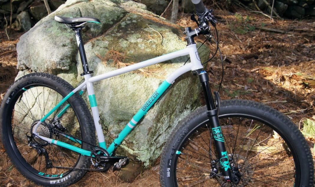 Breezer Lightning Plus Team steel hardtail mountain bike review