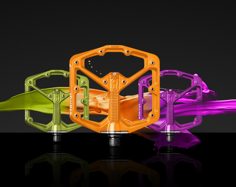 Crankbrothers Adds Three New Options For Stamp 7 With Limited Edition Flat Pedals