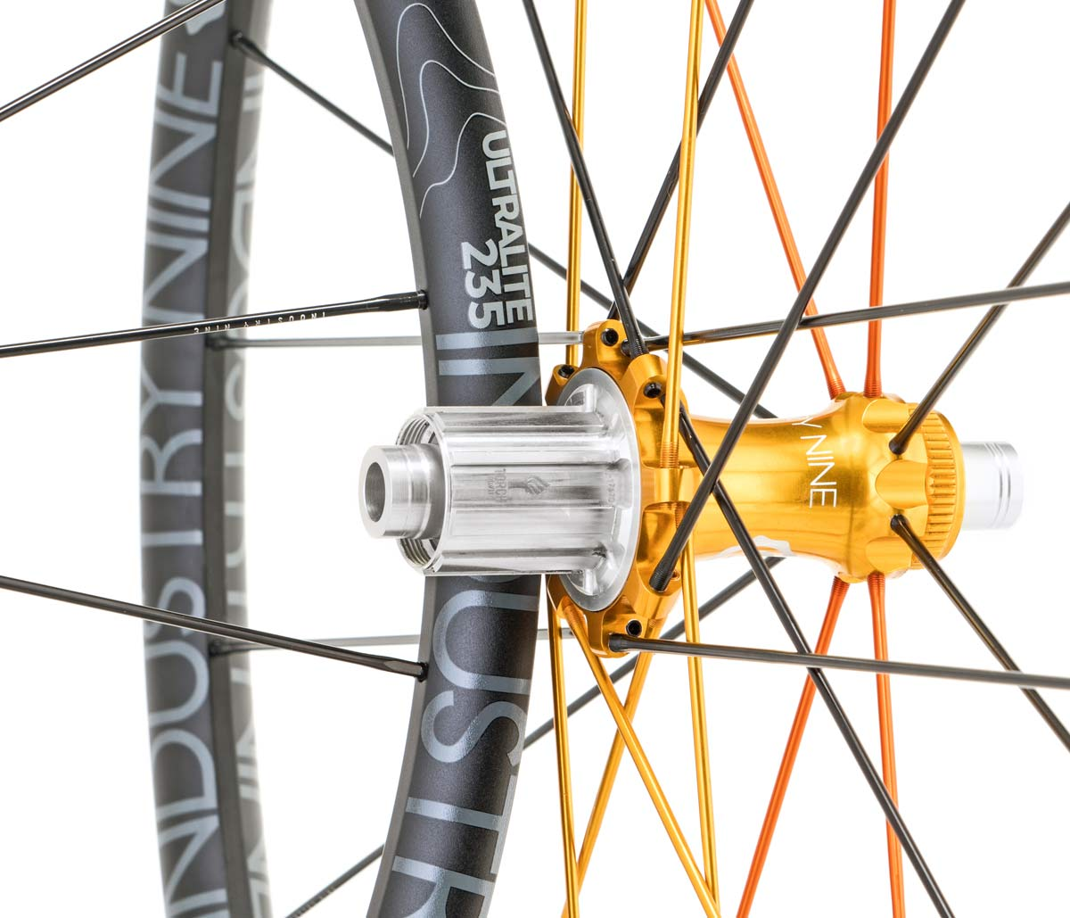Industry Nine UL235 Torch Road Alloy cyclocross and gravel race bike wheels