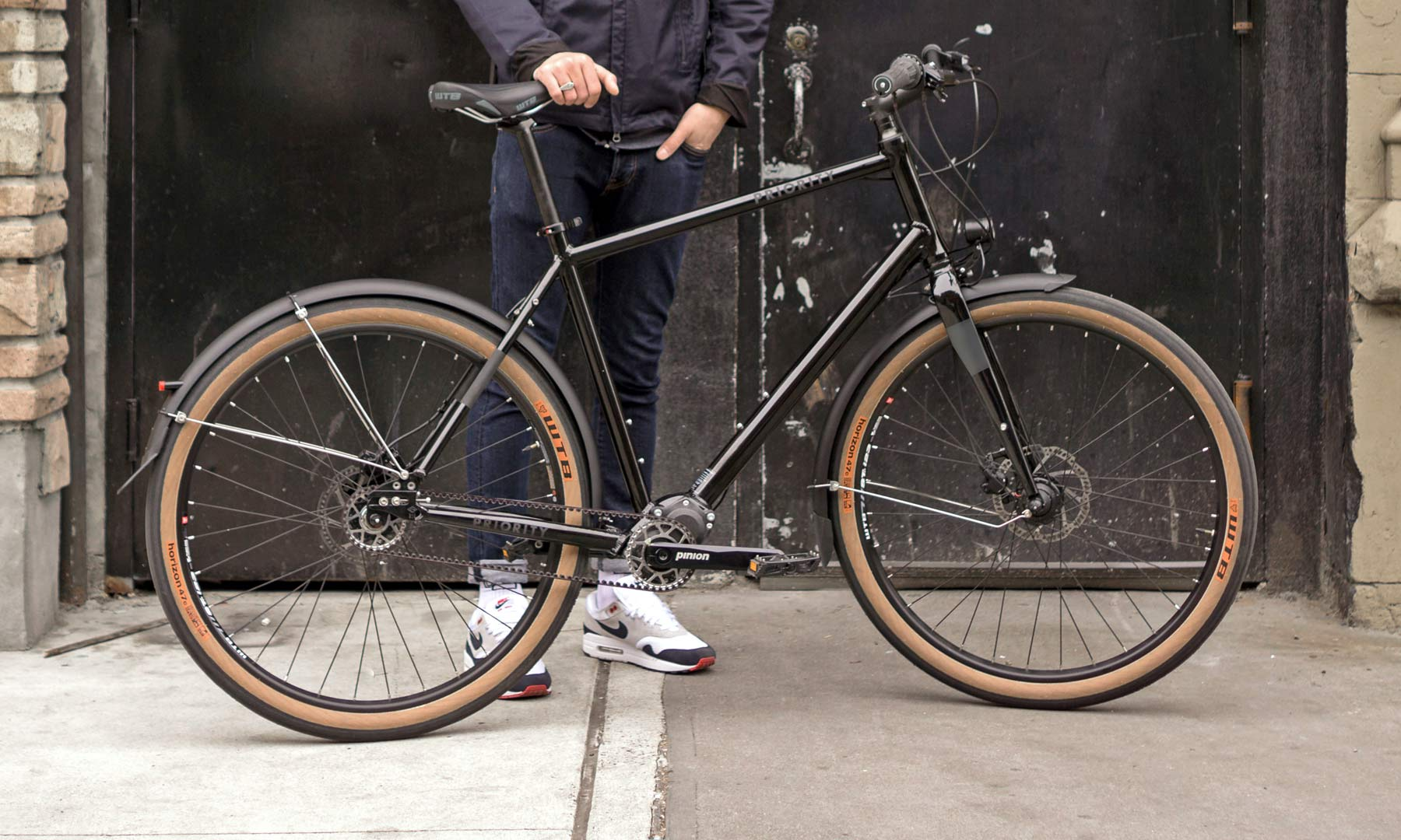 The Priority 600 All Road Plus Commuter Gets Pinion Power