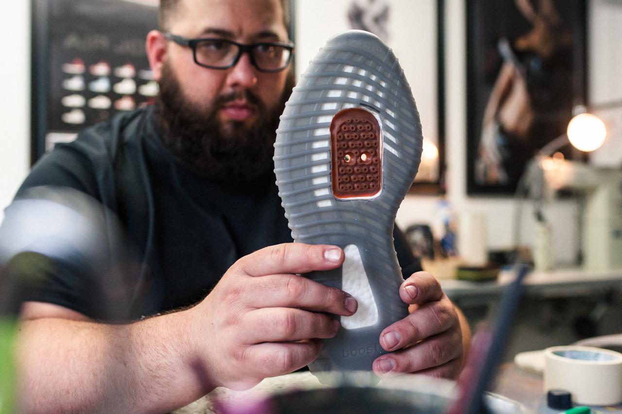Yeezy 350 Boost V2 SPD takes shape w/ DZR, State Bicycle Co, & Dank & Co. collab