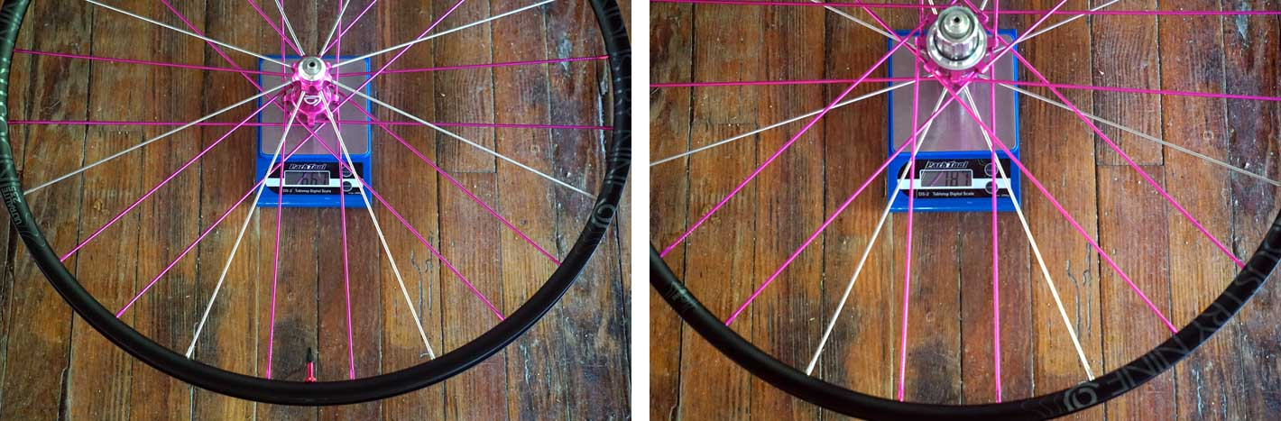 2018 Industry Nine Torch Road Alloy UL235 cyclocross wheels actual weights