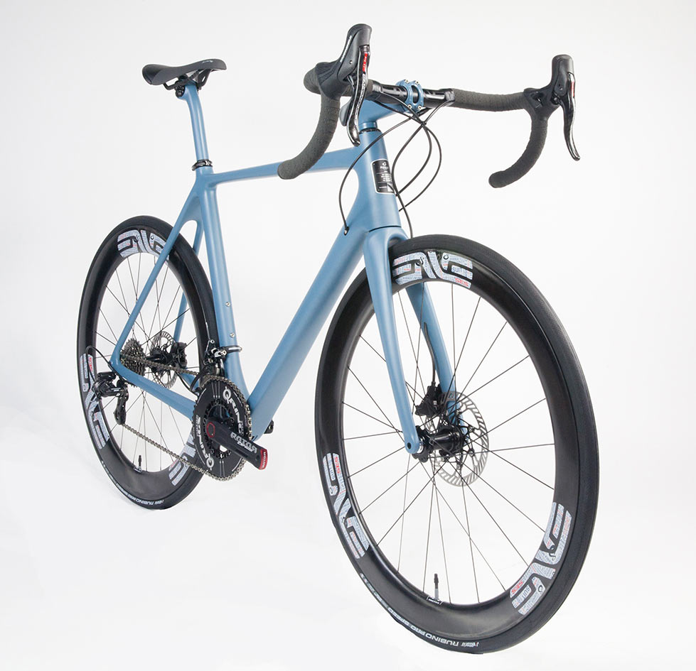carl strong pursuit cycles mark 1 road bike tech details and development story