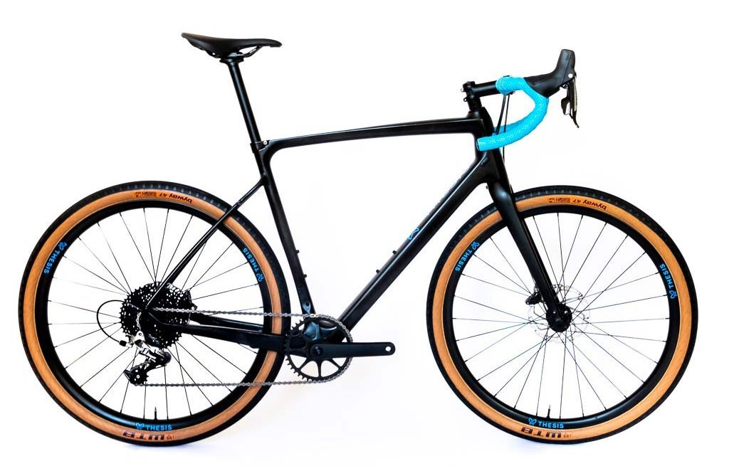 Thesis OB1 all purpose drop bar road gravel bike packing adventure bike can be setup with different size wheels and tires to suit your needs