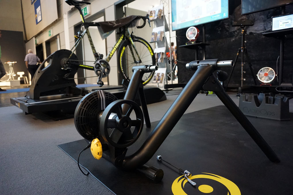 2019 CycleOps M4 and H4 smart trainers get improved power and cadence measurement and replace the magnus and hammer indoor cycling trainers