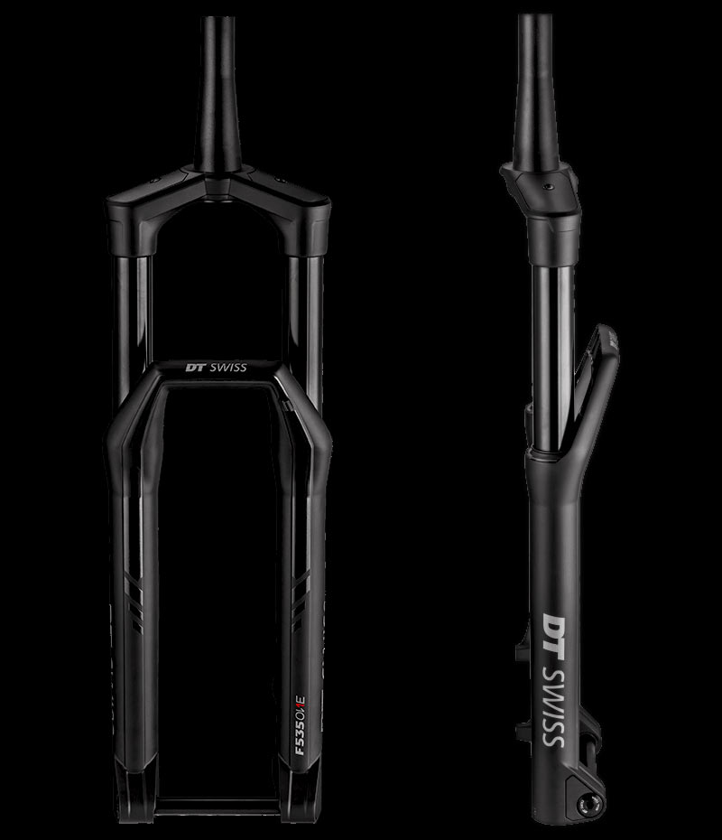 2019 DT Swiss 535 suspension fork and shock for xc trail and enduro mountain bikes uses a holistic damping system