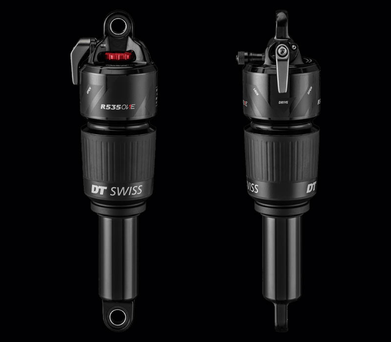 2019 DT Swiss 535 mountain bike suspension fork and shock uses position specific damping tuning with options for xc trail and enduro