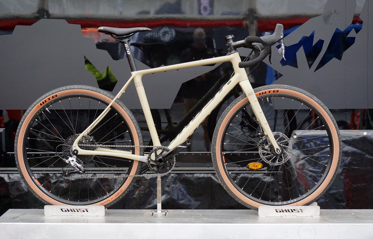 2019 Ghost Road Rage RR gravel adventure road bike doubles as a cyclocross racer and touring bikepacking bicycle