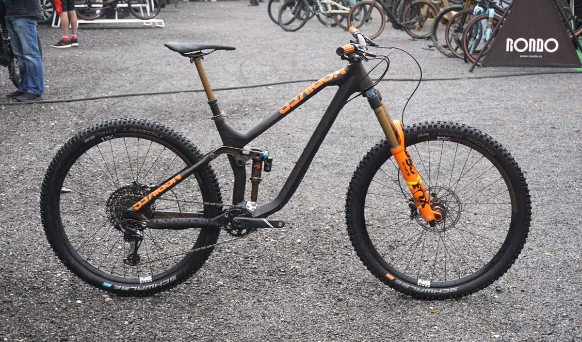 2019 NS Bikes Define long travel 29er trail enduro mountain bike with adjustable suspension travel and geometry