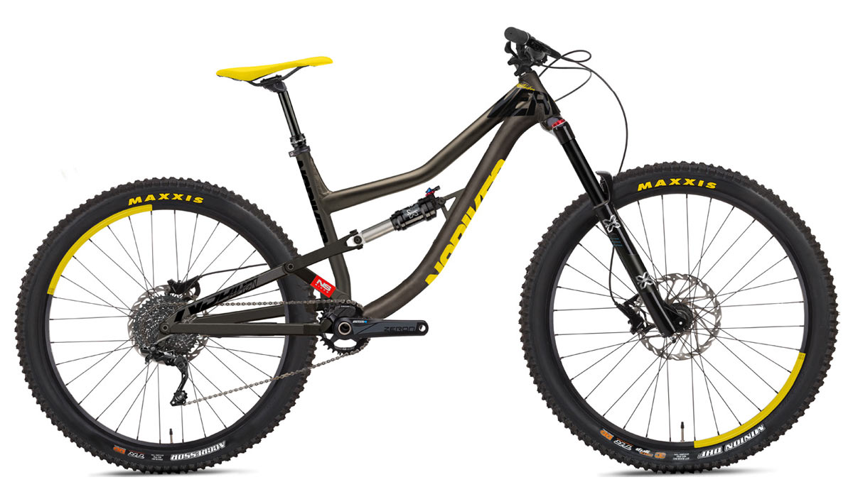 2019 NS Bikes Nerd HD 275-and-29er-mixed wheel size enduro and bike park mountain bike with affordable alloy frame