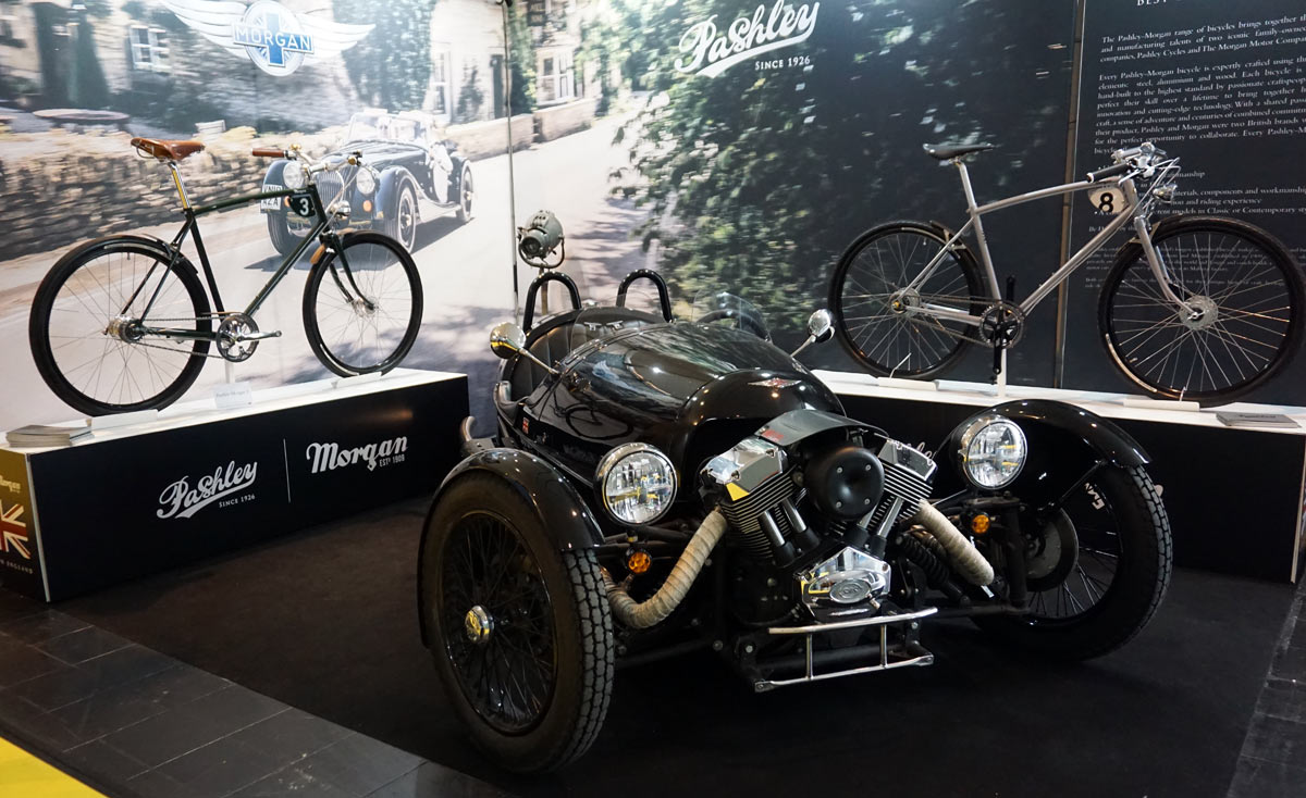 3707b5a3ed6 EB18: Pashley Morgan city bikes might be the sexiest things at Eurobike