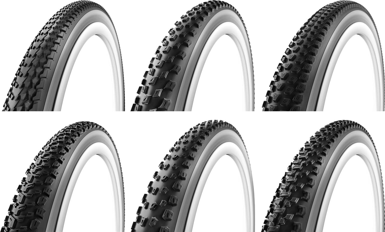 Vittoria cross country mountain bike tires have a tread pattern for dry wet hardpack and loam to suit any course