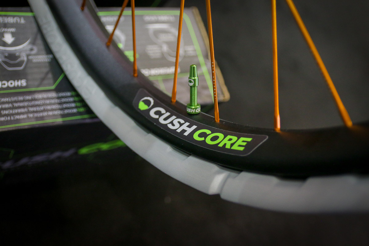 "cushcore vibration damping tire inserts 27.5"" wheels"