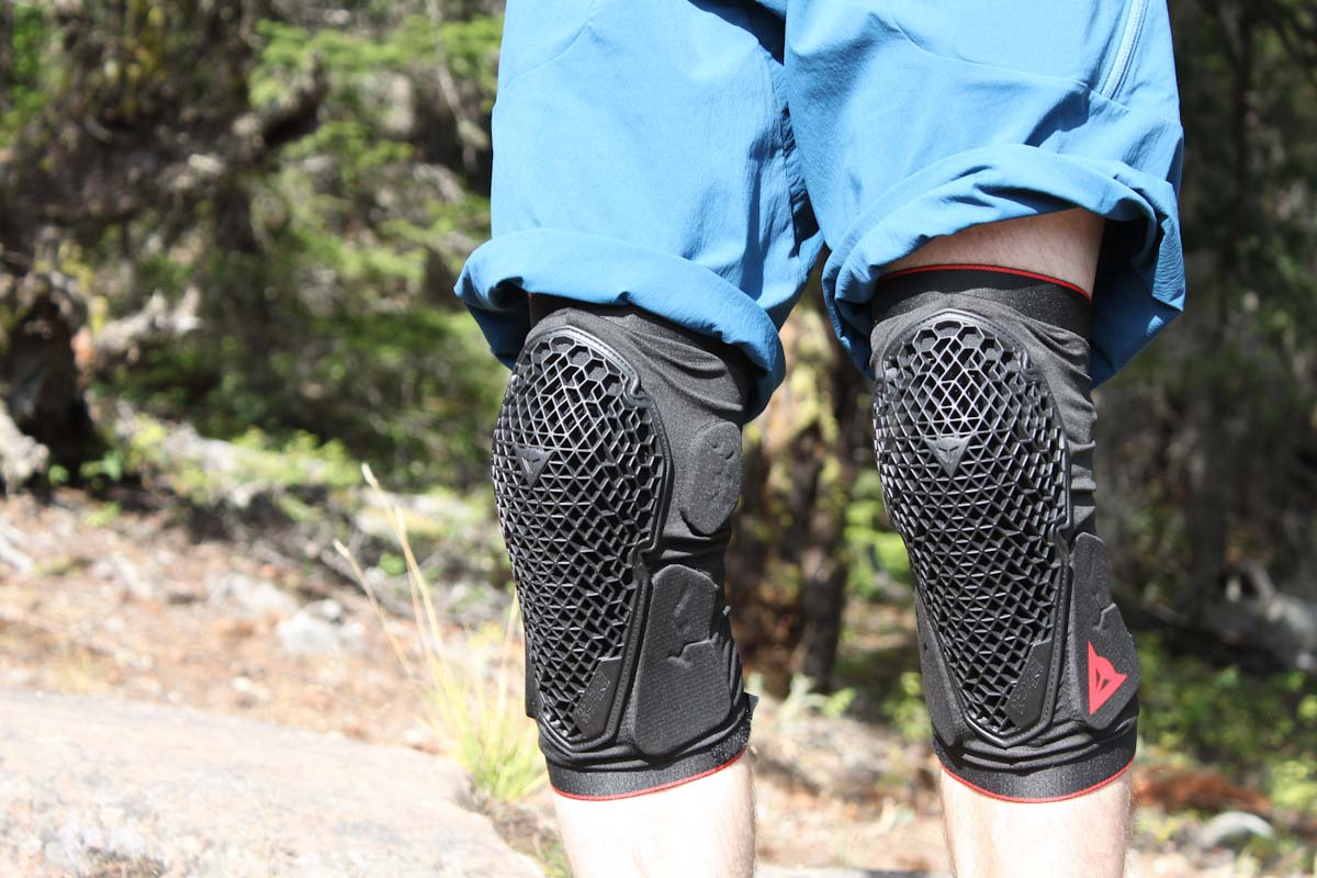 Dainese Trail Skins 2, on legs