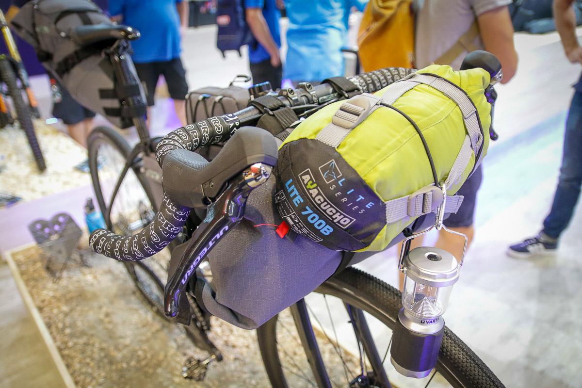 PRO Discovers gravel & adventure riding with flared dropbars, frame bags, & more