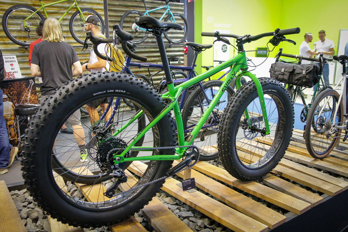 EB18: Surly Ice Cream Truck fat bike gets fatter with new trail oriented geometry