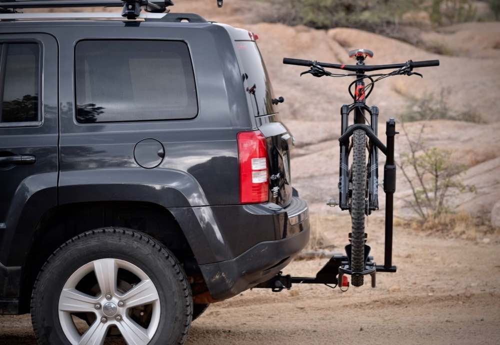 Yakima's new one-bike hauler is compact, light, and easy to use.