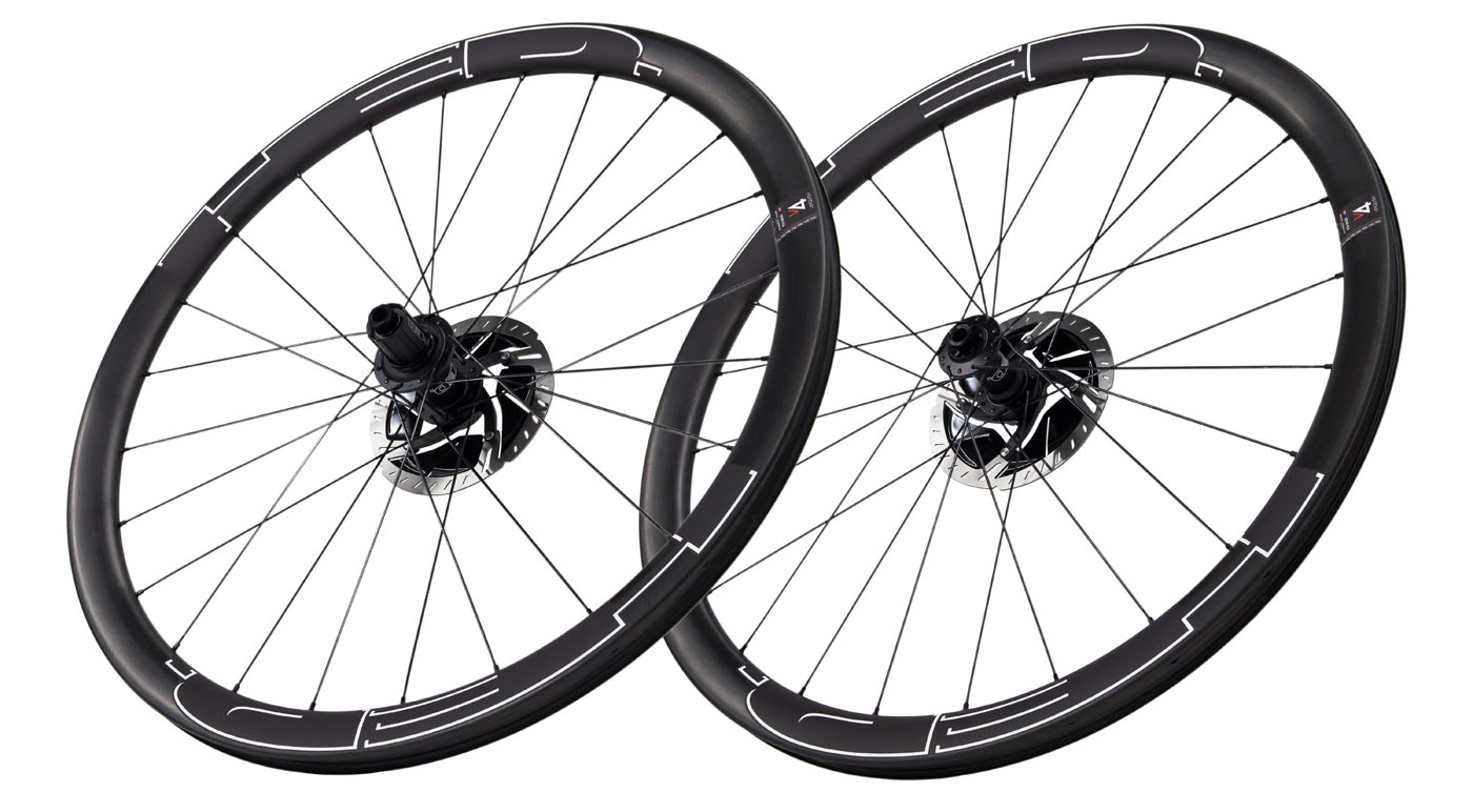 HED Vanquish 4 aerodynamic road and gravel wheels for wide tires