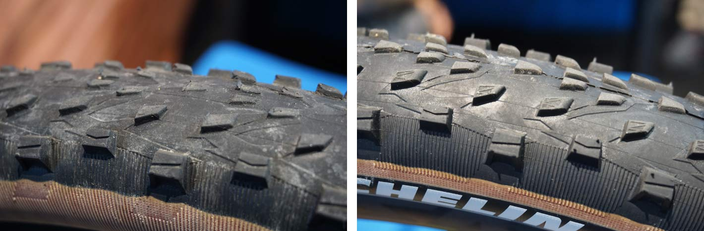 prototype michelin force XC mountain bike race tires tested by BH bikes team
