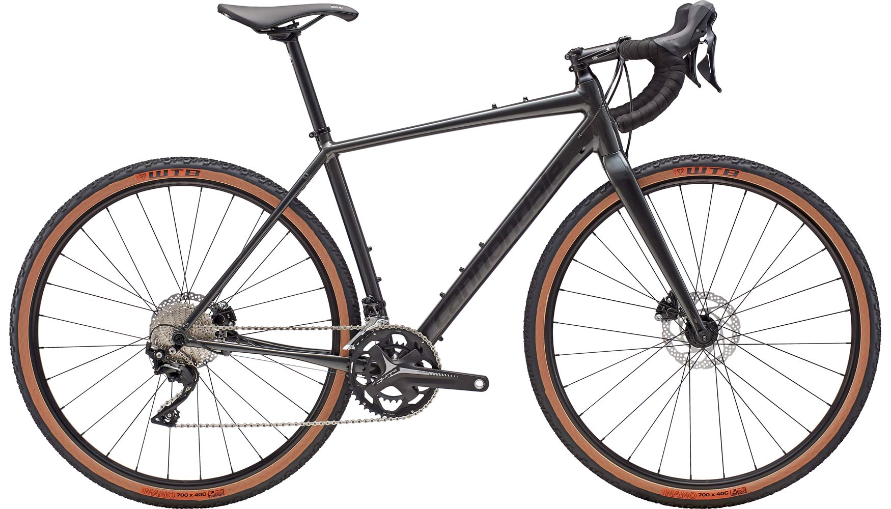2019 Cannondale Topstone alloy gravel road bike with endurance geometry and wide tire clearance