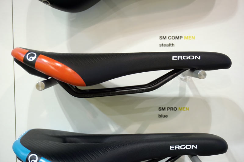 cushioned performance road and mountain bike saddles from Ergon with relief channel and air vent