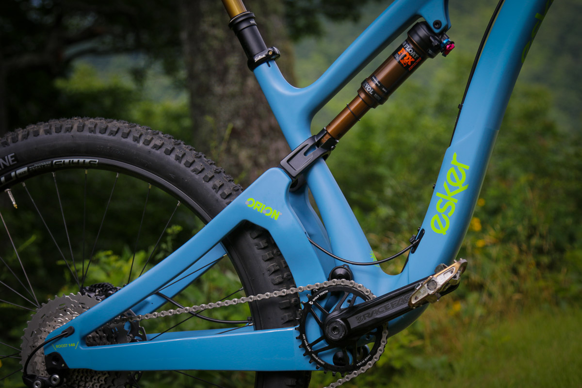 Esker Cycles first w/ Weagle\'s Orion suspension on all-new 150mm ...