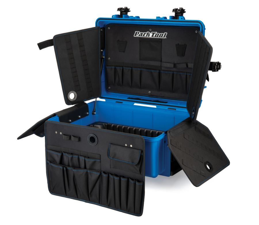 Park Tool rolls out two new traveling tool boxes for the mobile mechanic