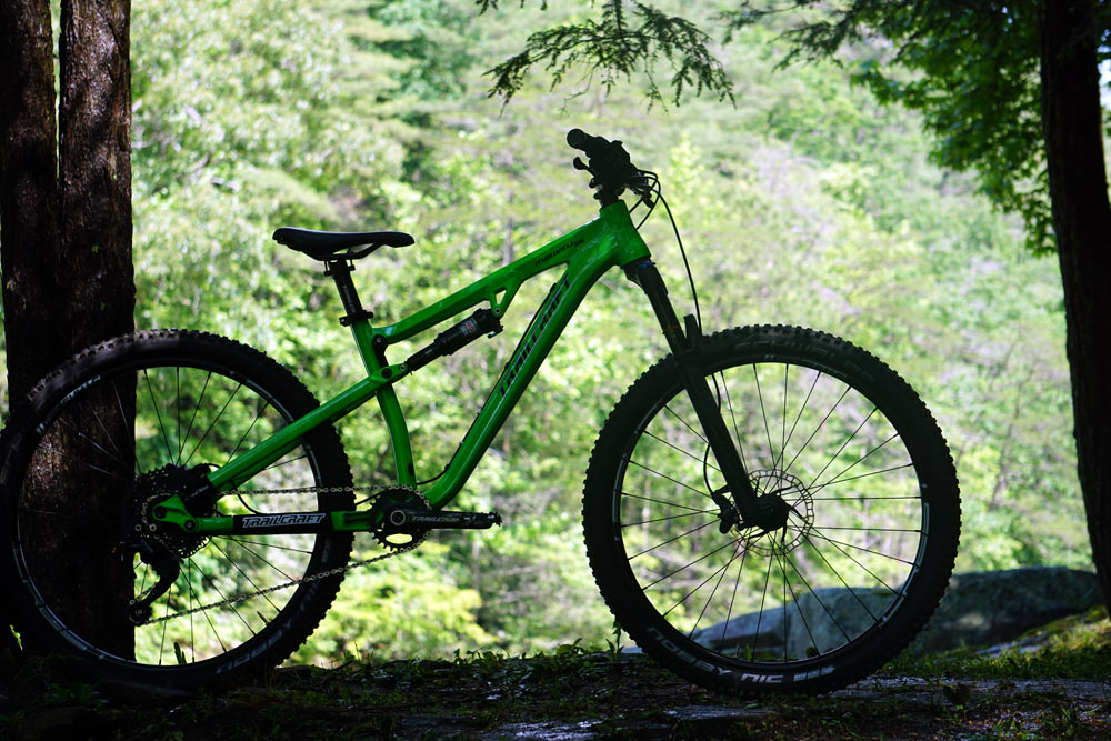 trailcraft maxwell 26-inch full suspension youth mountain bike long term review with specs and tech details