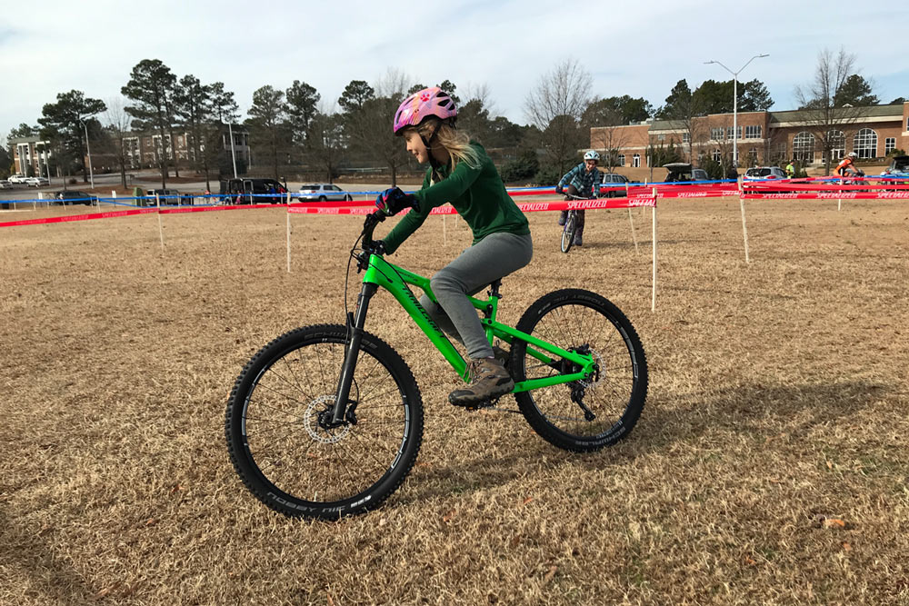 trailcraft maxwell 26-inch full suspension youth mountain bike ride review