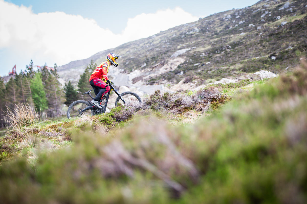 First Ride: Rolling through Glencoe on the new Polygon XquarOne DH