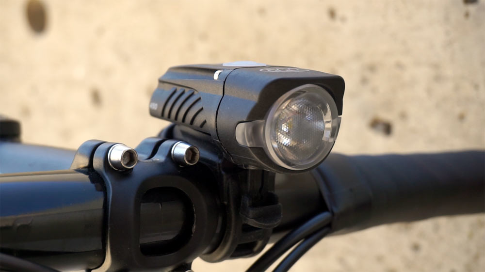 testing niterider lights during the day to see if bicycle lights improve a cyclists safety in sunlight