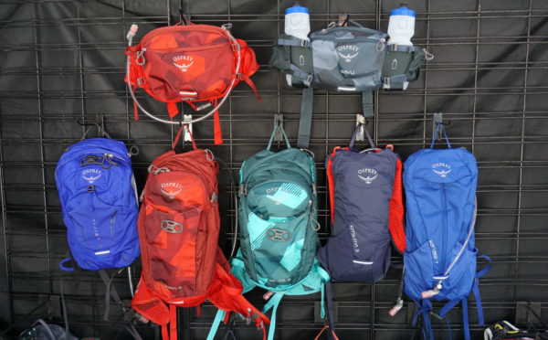 2019 Osprey mountain bike hydration packs add more sizes with fresh designs and colors plus more affordable options