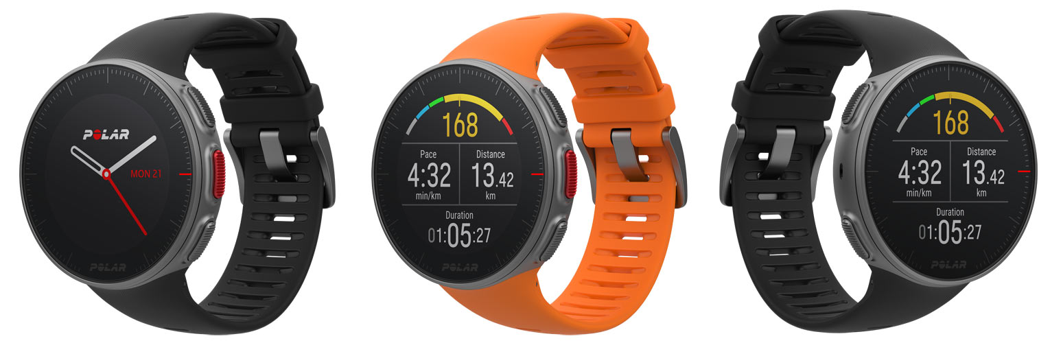 Polar Vantage V heart rate gps watch for cycling running swimming and crossfit training