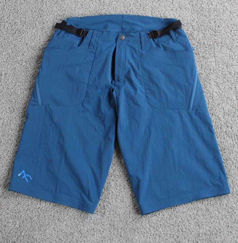 7mesh Glidepath shorts, front