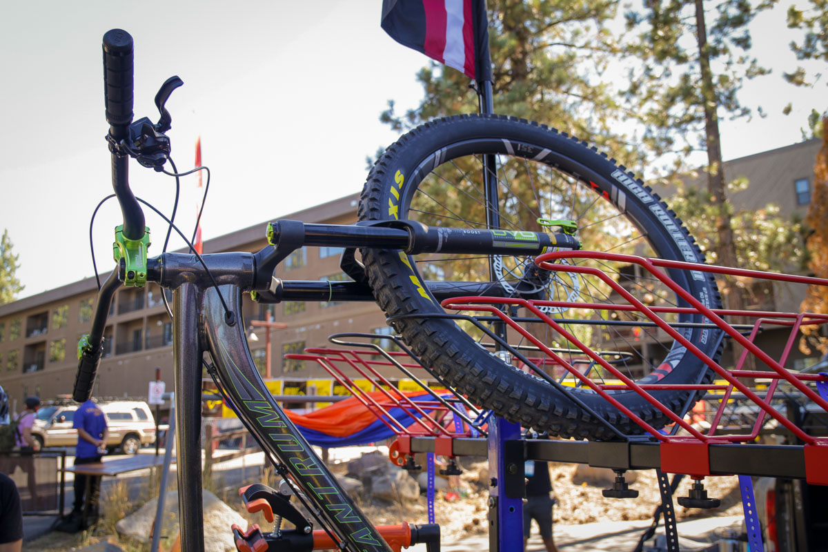 ALTA Racks carry up to 6 bikes, accessories, and work as a mobile base camp