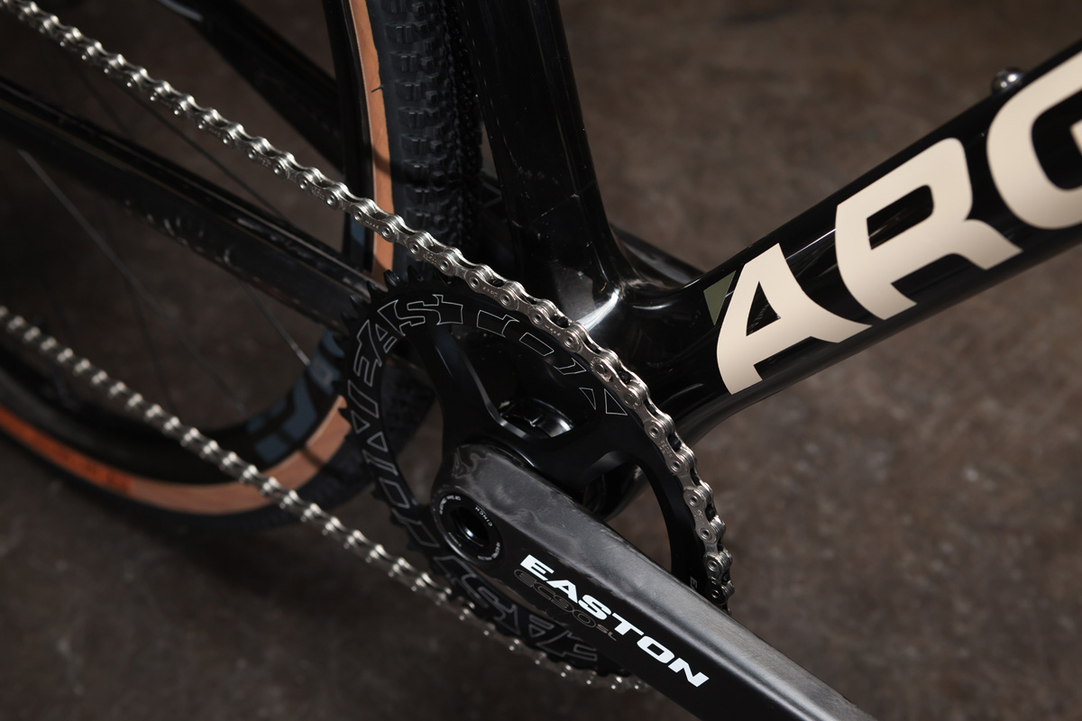 Argonaut updates the award winning Gravel Racer w/ custom GR2 carbon