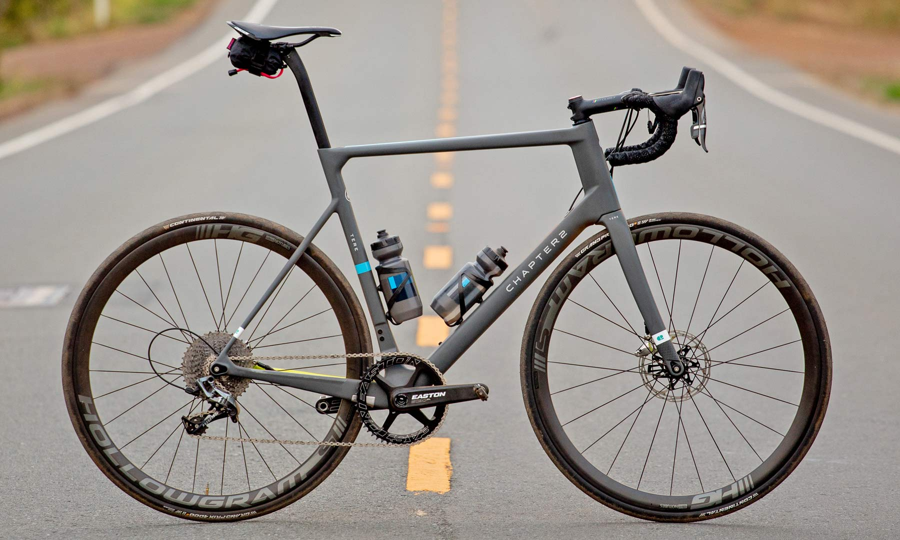 Ornot x Chapter2 Tere Disc limited edition carbon disc brake road bike driveside