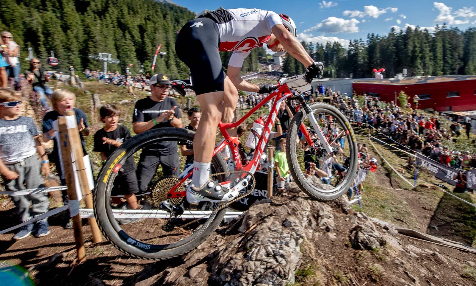 Scott Spark RC 900 World Cup, Nino Schurter - 7x World Champion N1NO 2018 Swiss XC Worlds mountain bike