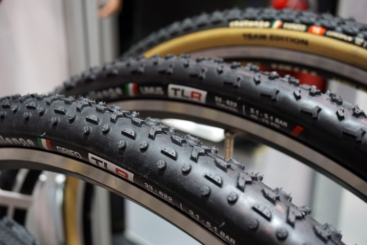 tubeless ready Challenge Grifo and Limus cyclocross tires
