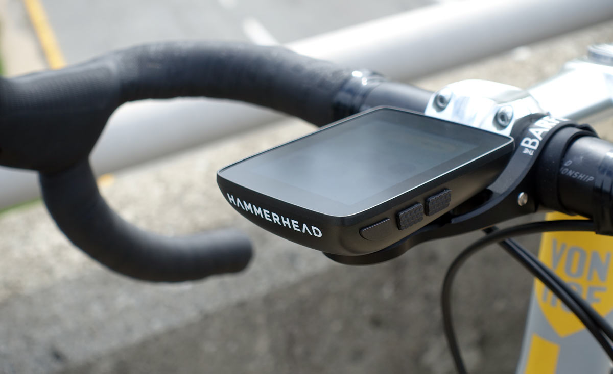Best Cycling Computer >> Review Hammerhead Karoo Is A Big Bold Gps Cycling Computer With A