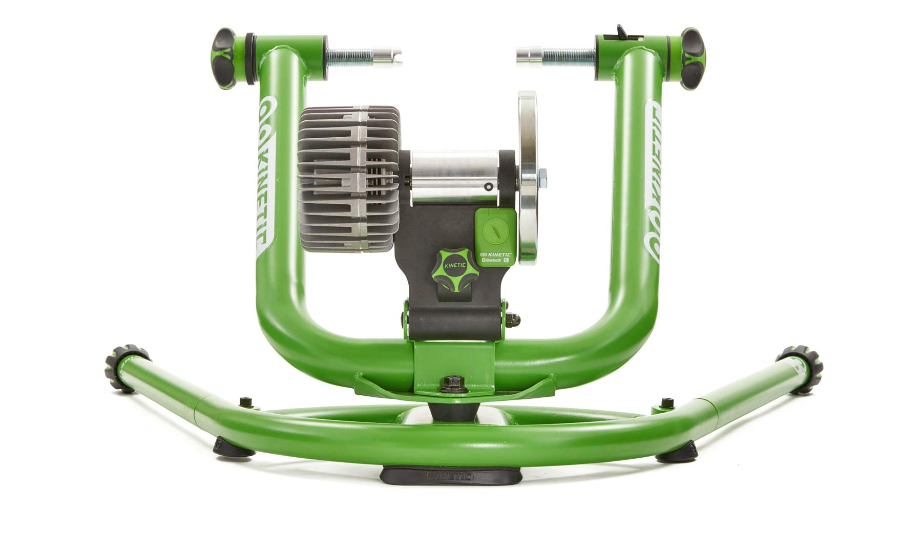 Kinetic Rock and Roll Smart 2 balancing, power-reporting fluid trainer with Kinetic inRide 3 Power Sensor with enhanced connectivity