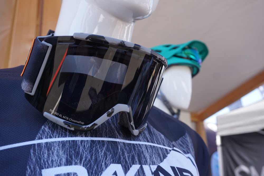 2019 Smith Squad XL oversize mountain bike goggles for enduro and downhill riding