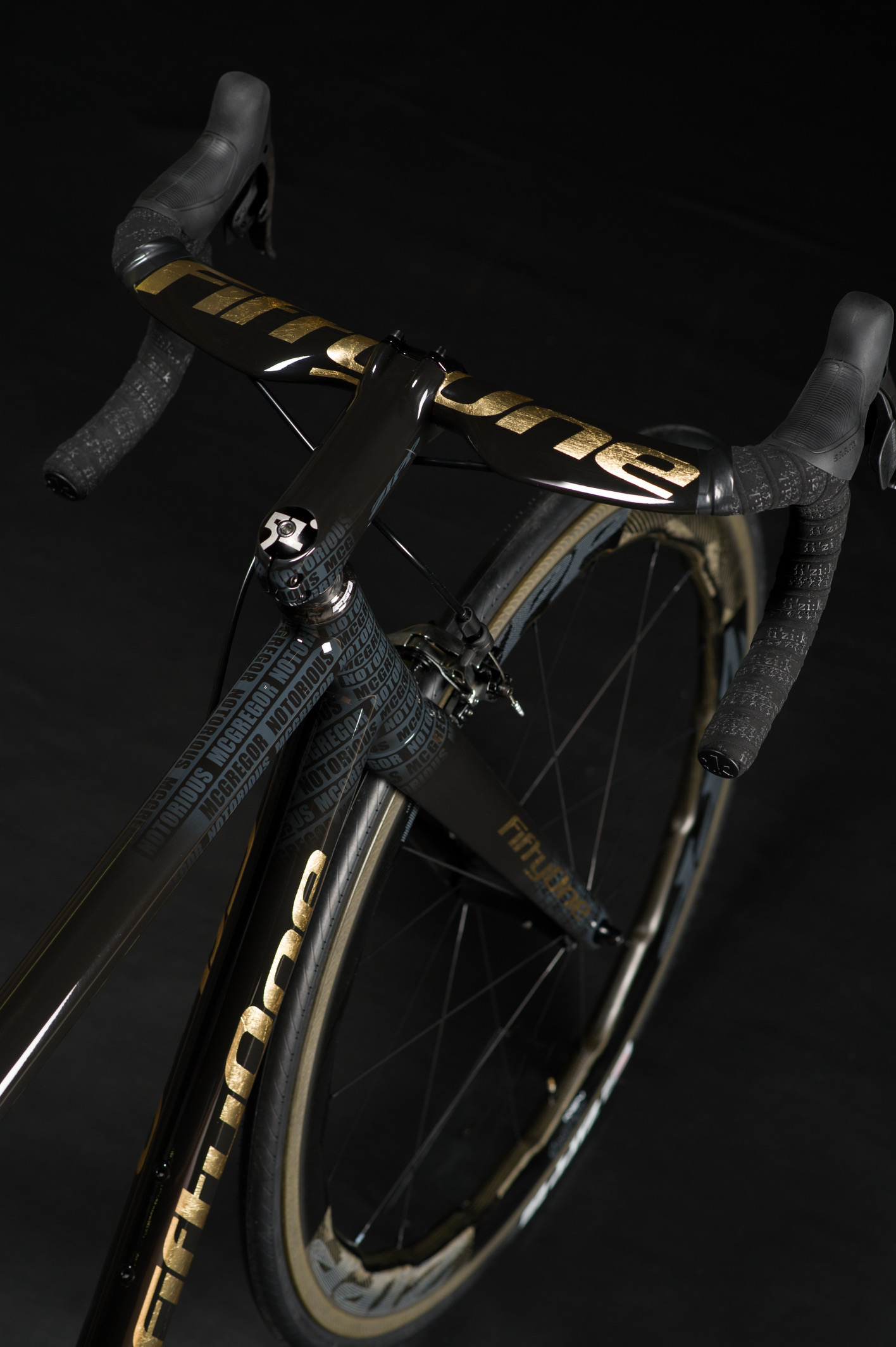 Connor McGregor rides into his next fight on a custom ride from FiftyOne Bikes