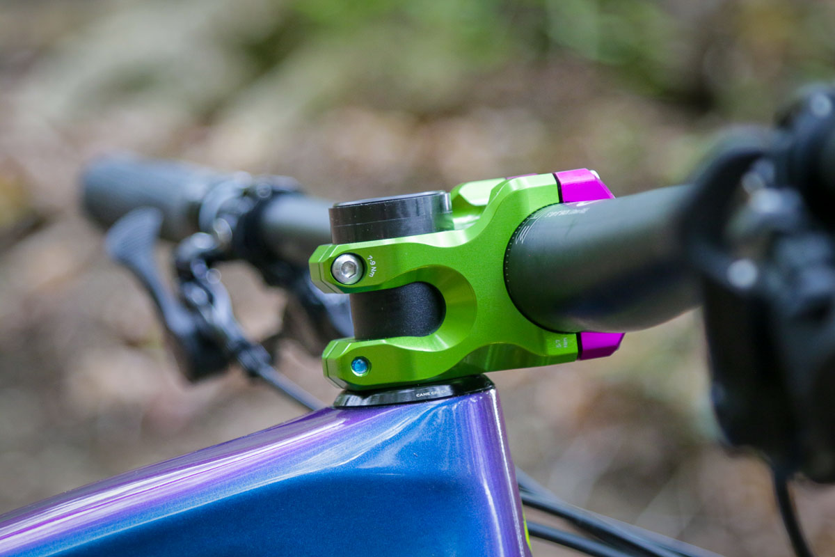 Hands on: Industry Nine A35 stem turns with precision from CNC machining