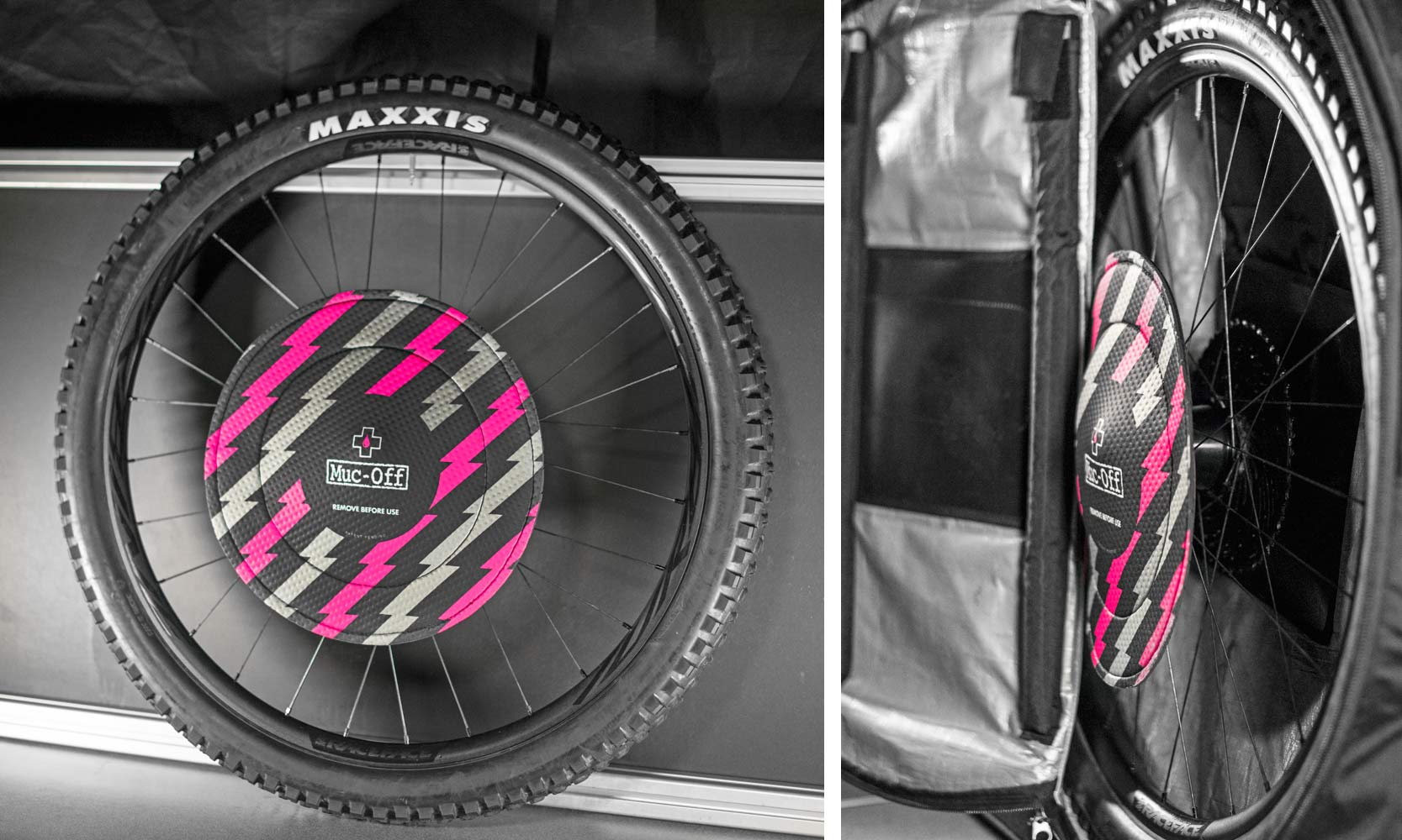 Muc-Off neoprene Disc Brake Covers for cleaning & transport